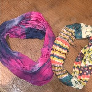 2 wrap headbands
